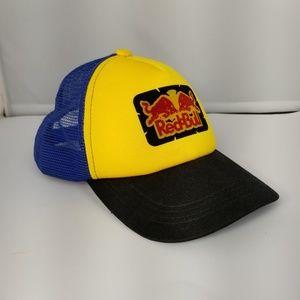 Red Bull Energy Drink Mesh Trucker Snap Back Hat